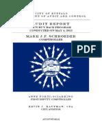 2013 Gun Buy Back Audit - Buffalo, NY