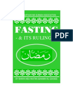 Fasting and It's Rituals