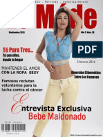 Le Móde TV Magazine - Bebe Maldonado