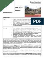 2013 mdg 7 progress report