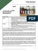 2013 mdg 8 progress report