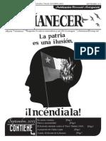 Periódico anarquista El Amanecer, Septiembre 2013