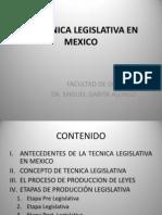 La Técnica Legislativa en México