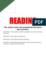Reading Standards