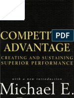 Michael Porter - Competitive Advantage