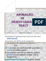 Anomalies of Genito-Urinary Tract