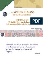 El �mbito del c�lculo econ�mico - De Mises, ACCI�N HUMANA.pptx