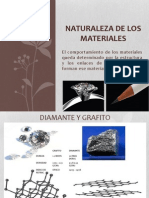 Naturaleza de Los Materiales