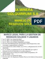 Capacitación Residuos Solidos. Mayo - 2013