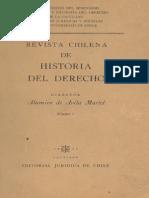 Revista Chilena de Historia Del Derecho (1959)