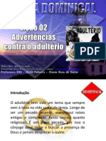 Licao 2 - Subsidio - Adverterncias Contra o Adulterio