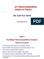Topic 4 MHC