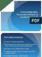 Echocardiography - Effusions