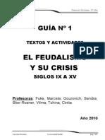 Guía 1 Feudalismo 2010