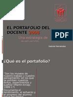 El Portafolio Del Docente 2008