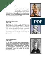 Filosofos de La Edad Media