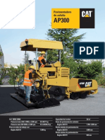 Pavimentadora CAT - AP_300