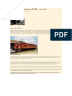 Historia y Evolucion Del Ferrocarril