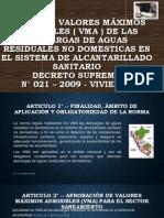 VMA ALCANTARILLADO