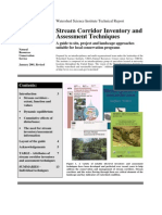 Stream Corridor Inventory Techniques