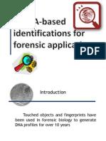 mRNA-Based identification for forensic application