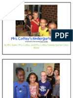 Mrs Coffey's Kindergarten Walk Book 2013
