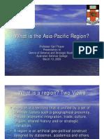 Thayer Asia Pacific Regionalism
