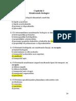 Capitol 3 Membrane Biologice ROM