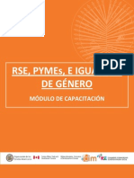 RSE, Pymes e Igualdad de Género - Módulo de Capacitación