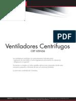 Coprel SPA Ventiladores Centrifugos CRT05