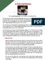 1 Cà phê Cappuccino & Espressso