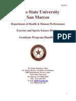 ESS Graduate Handbook (1); ESS Graduate Handbook (1)