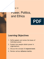 Ch12 Power Politics Ethics