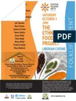 EFP #3 Liberian Foodways Project