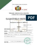 Caratula Notarial
