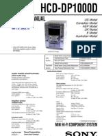 Sony Hcd Dp1000d