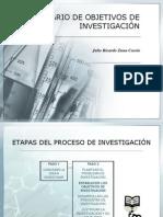 Objetivos de Investigacion 10442