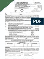 PM&DC Form 1-A Dental (Full Registration After House Job)