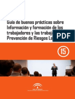 Guía de buenas prácticas sobre información y formación de los trabajadores y las trabajadoras en PRL