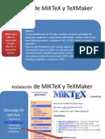 Instalación de MiKTeX y TeXMaker