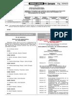 Reglamento de Ferrocarriles - Peru MTC - DS N° 032-2005