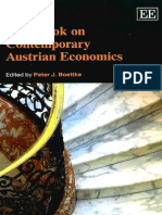 Handbook on Contemporary Austrian Economics by Peter J. Boettke