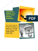 Global Financial Crisis and its Impact on the Indian Economy