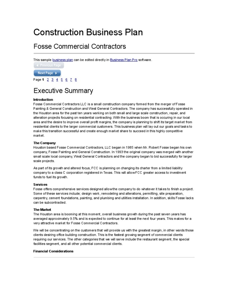 Business plan for construction firms popular mba essay editing site online