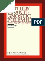 Gérard Vallée - A Study in Anti-Gnostic Polemics - Irenaeus, Hippolytus,Epiphanius