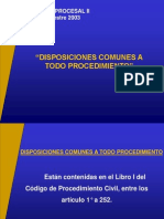 Disposiciones Comunes 1