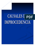Causales de Improcedencia