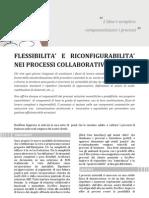 Flessibilità e riconfigurabilità nei processi collaborativi