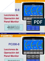 Pc200-8 Monitor Simulador