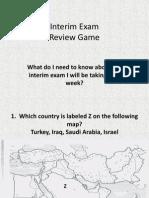 combined interim exam review game for interim 1   2013-2014